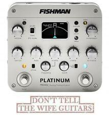 FISHMAN Platinum Pro EQ / DI Preamp PRO-PLT-201 (OPEN BOX MINOR PACKAGE DAMAGE)