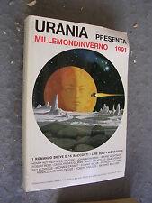 URANIA MILLEMONDINVERNO 1991 - 1 ROMANZO BREVE E 15 RACCONTI - MONDADORI
