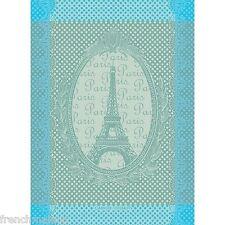 Garnier Thiebaut French Kitchen Towel PARIS EIFFEL TOWER Vintage Retro Design