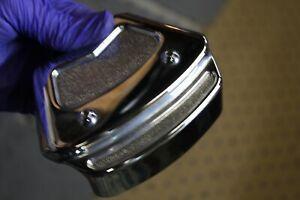chrome brake caliper cover rear 2000 FXR4 Harley TwinCam Softail FL FXD EPS23790