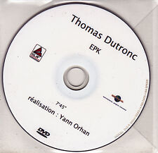DVD  COLLECTOR IN PLASTIC SLEEVE  THOMAS DUTRONC EPK 7.45