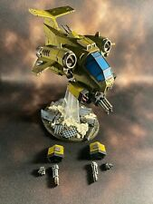 Space Marine Imperial Fists Storm Talon 2 of 2, pro painted