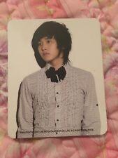Super Junior Sungmin Memory Card OFFICIAL PHOTOCARD Kpop K-pop Rare OOP