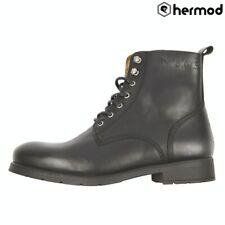 Helstons City Waterproof Motorbike Motorcycle Boots - Black