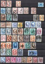 USA Klassik 1851 - 1898 ex Mi.-Nr. 4 - 131 ° mit vielen bessere Werten Hoher KW