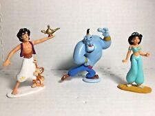 Disney Aladdin PVC Figures/Cake Toppers Lot of 3