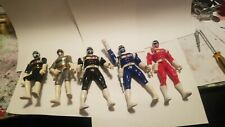 Lot of 5 Power Rangers In Space Action Figures
