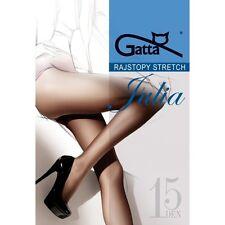 Gatta Collants Julia 15 Den ou Sofia 20 Den Classique Halbmat Collants 2597bd2b020