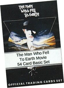 The Man Who Fell To Earth Movie - 54 Card Basic/Base Set - Unstoppable 2015