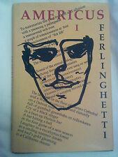 Americus Vol. 1 by Lawrence Ferlinghetti (2004) HC/DJ 1st Edition SIGNED