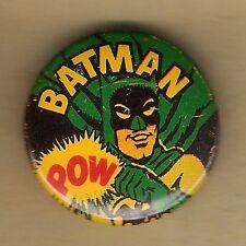 "Vintage Pinback Button Pin Badge 1966 Batman 1"" Collection  Batman ""POW"""