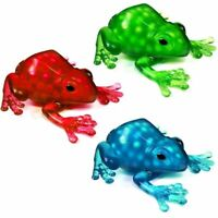 Squeezy Frog Toy Filled With Slime - Tactile Stress Sensory Toy - Choose Colour