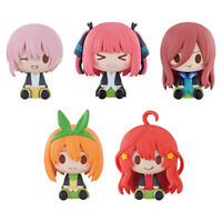 The Quintessential Quintuplets Ichiban Kuji Prize H Mini figure Complete Set