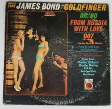 James Bond 007 Vinyl Record Lp Metro M520 Music From the Motion Pictures
