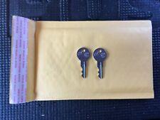 2 New For Steelcase Keys File Cabinet / office furniture desk Key CODE FR1-FR200