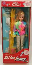 Takara Tomy Jenny Doll Ski Fan Figure Japan 1646 Winter Resort Jacket Boots 1986