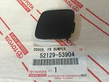 *NEW LEXUS IS250 IS350 FRONT BUMPER TOW HOOK COVER CAP CLIP OEM HOLE 09-10