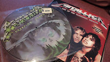 METALLICA LOT OF 2 LPS PICTURE DISC CREEPING DEATH + SEALED PLAYHOUSE WINNEPEG