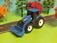 NEW HOLLAND, Tractor, Front End Loader, ERTL Quality, 1/64 Scale Die cast