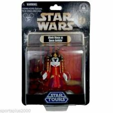 Disney Minnie Mouse As Queen Amidala  Star Tours Collectible Figure