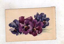 cartolina floreale vienna austria non viaggiata - 1912