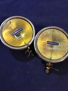 Vntge CARELLO 02.700.017 Fog Jod Light Big Size 60's/70's Ferrari Maserati Rare!