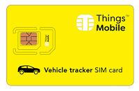 SIM Card Things Mobile per VEHICLE GPS TRACKER con 10 € di credito incluso