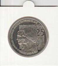 Nederland 2 1/2 ECU 1991 - Koningin Beatrix en Prins Claus (e036)
