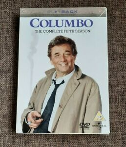 Columbo - The Complete 5th Season DVD Box Set (3-Disc Set) - Excellent Condition