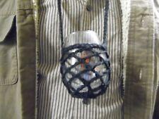 Crochet Wine Glass Yoke Lanyard Necklace, Hands Free Holder