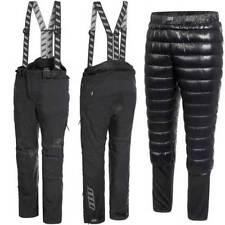 Pantalon noir avec doublure pour motocyclette