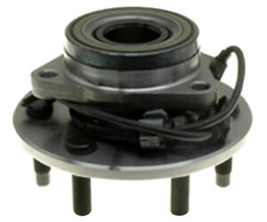 Wheel Bearing and Hub Assembly-R-Line Front Raybestos 715130