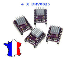 Lot 4 DRV8825 Stepstick driver 3D printer CNC A4988 shield + dissipateur pololu