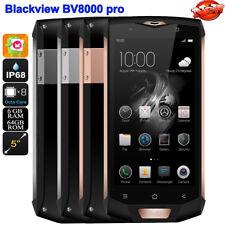 Outdoor-Handy IP68 Wasserdicht Smartphone Blackview BV8000 Pro MTK6757 Octa-core