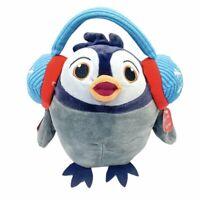 Hallmark Northpole Talking Singing Jaz the Penguin Plush Stuffed Toy 10in