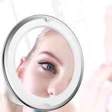 Espejos de Maquillaje 7x Aumento Ajustable Espejo de Afeitar