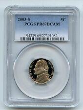 2003 S 5C Jefferson Nickel PCGS PR69DCAM