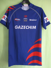 Maillot Rugby ASBH AS Béziers Hérault Gazechim Vintage Proact Jersey - S