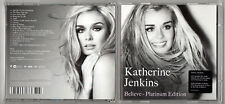 KATHERINE JENKINS - Believe (Platinum Edition) - 2010 CD Album and DVD