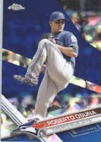 ROBERTO OSUNA 2017 TOPPS CHROME SAPPHIRE EDITION #626 ONLY 250 MADE