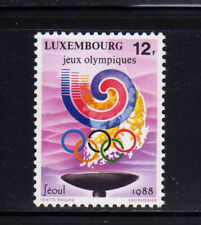 Olympics Luxembourg Stamps