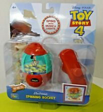 ThinkWay Disney Toy Story 4 Electronic Music Light Spinning Woody Rocket