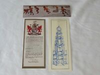 Three Vintage Collectable Bryn Mawr College Library Bookmarks 1906 1912 1981