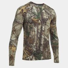 Under Armour Real Tree Mens  Hunting Long Sleeve Camo Shirt XL