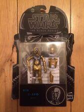 Star Wars Black Series Wave 8 C3po Droid #16 MOC Action Figure Hasbro TBS VC
