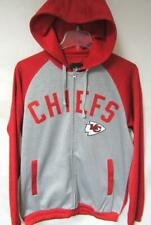 Kansas City Chiefs Men M Full Zip Performance Hooded Sweatshirt MSRP $75 A1 2451