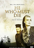 O Christos Xanastavronete (He Who Must Die)  with Melina Mercouri PROMO DVD