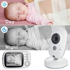 """2020 Babyphone Caméra, Bébé Moniteur Sans fil LCD 3,2"""" Écran LCD Ecoute Bébé VOX"""