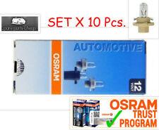 10x 2452MFX6 OSRAM 1.5W 12V BX8.4d miniature 1,5w bx8,4d  Germany