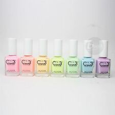 color Club Poptastic Pastel Neon Collection Lacquer Set of 7 Color AN31 - AN37